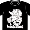 『MUSIC BONE』Tシャツ