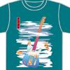 【ニシナガレ】ニシナガレ・テレキャス和風Tシャツ